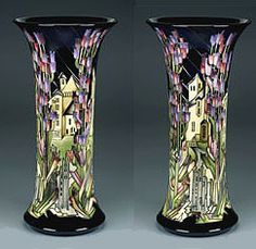 Moorcroft Pottery - Town of Flowers by Kerry Goodwin