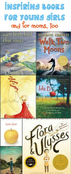 Inspiring Books for Young Girls (and for moms, too)