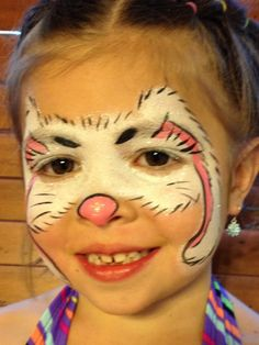 Easter Bunny - Face Painting by Jennifer VanDyke