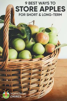 9 Best Ways to Store Apples to Make Them Last for Short