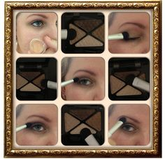 Part 1 How To : Makeup For Brown Eyes ! <3