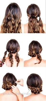 Need a Valentine's Day hair tutorial? Try this hair hack and you'll be g… Need., Summer Hairstyles, Need a Valentine's Day hair tutorial? Try this hair hack and you'll be g… Need a Valentine's Day hair tutorial? Try this hair hack and you'll be goo. Easy Summer Hairstyles, Cool Hairstyles, Easy Updos For Long Hair, Cute Updos Easy, Easy Hair Styles Quick, Easy Wedding Guest Hairstyles, Easy Pretty Hairstyles, Hairstyles For Dances, Simple Hair Updos