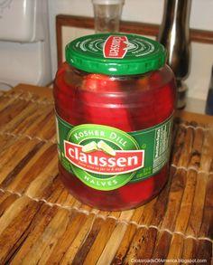 Cherry pickles.