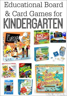 These educational games for kindergarten cover basic academics such as alphabet recognition and math skills, plus critical…