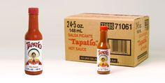 Tapatio Hot Sauce - favors? (w/ custom labels)