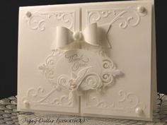 All White Thank You by jasonw1 - Cards and Paper Crafts at Splitcoaststampers