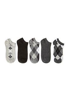 Argyle Ankle Sock Pack | FOREVER21 - 2055879824