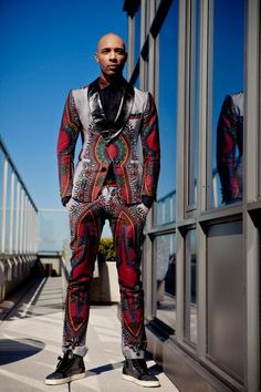 Brand:Toure Designs Designer:Alhassan Toure Fall 2013 Lookbook cutfromadiffcloth.tumblr.com
