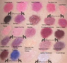 Fyrinnae Swatches – Mostly Pinks