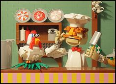 Lego Muppets Swedish Chef | The Brothers Brick | LEGO Blog