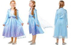 Costum rochie fetite Elsa Disney Frozen 2 - Marime S Disney Frozen Elsa, Costume, Costumes, Fancy Dress, Costume Dress