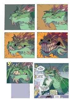Wings Of Fire Dragons, Cute Dragons, Dnd Funny, Funny Vid, Dragon Statue, Dragon Art, Cute Comics, Funny Comics, Dragon Age Funny