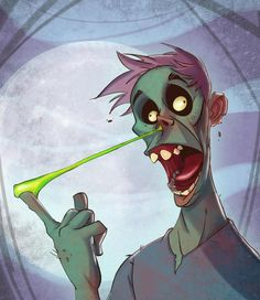 Zombie Booger  ★ || CHARACTER DESIGN REFERENCES (https://www.facebook.com/CharacterDesignReferences & https://www.pinterest.com/characterdesigh) • Love Character Design? Join the #CDChallenge (link→ https://www.facebook.com/groups/CharacterDesignChallenge) Share your unique vision of a theme, promote your art in a community of over 25.000 artists! || ★