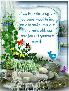 Lekker Dag, Blessed Week, Evening Greetings, Afrikaanse Quotes, Goeie More, Happy Birthday Pictures, Good Morning Wishes, Dado, Diy Photo