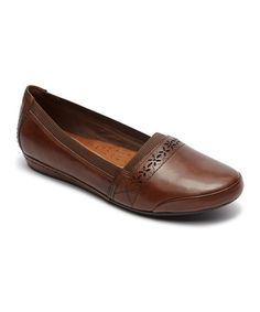 This Almond Gigi Leather Loafer - Women is perfect!  zulilyfinds 72ce7e5bdb88