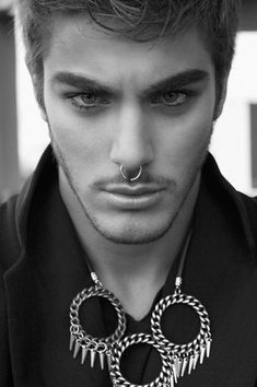 58 Best Guys With Septum Piercing Images Male Hair Mens Haircuts