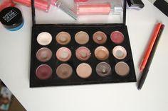 Top pics for the best MAC eyeshadow neutrals Dewy Makeup Look, Kiss Makeup, Mac Makeup, Makeup Kit, Makeup Cosmetics, Makeup Products, Mac Eyeshadow Palette, Lipstick Palette, Mac Palette