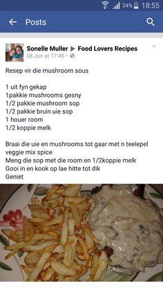 Braai Recipes, Meat Recipes, Cooking Recipes, Kos, English Food, Lunch Snacks, Everyday Food, Light Recipes, Popular Recipes