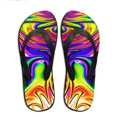 Forudesigns Women Casual Flip Flops 3d Fruit Puzzle Prints Summer Shoes Flats Sandals Woman Non-slip Home Slippers For Female Factories And Mines Shoes Women's Shoes