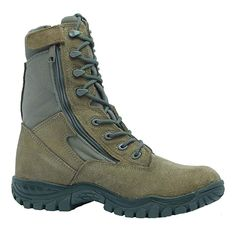 20e89aee155661 Belleville 612Z Hot Weather Side Zip Tactical Boot