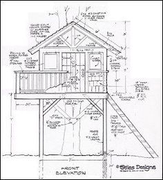 Image Result For Wooden Playhouse Plans