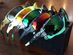 Oakley Jawbone Collection - See more: http://www.oakleyforum.com/threads/jawbone-collection.45025/