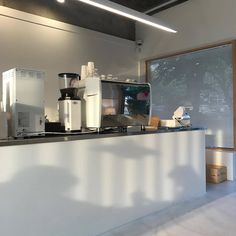 Cafe Shop Design, Cafe Interior Design, Korean Coffee, Coffee Shop Aesthetic, White Aesthetic, Minimalism, House, Home Decor, Meyou