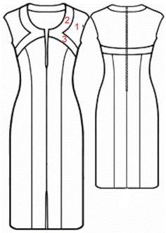 El patrón de vestido que traemos hoy es de esos patrones que conviene…