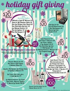 Christmas gifts with Mary Kay