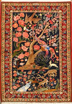 Kurdish Karabagh Rug Persian Or Caucasian The Designation Is A General One Relating To Region Not Village Specific Ethnic Group