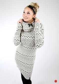 """Minikleider - MEKO Kleid Chevron """"EBBY_M3"""" - ein Designerstück von meko bei DaWanda"""