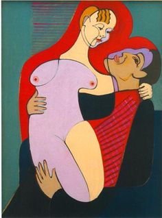 Great Lovers (Mr and Miss Hembus) - Ernst Ludwig Kirchner