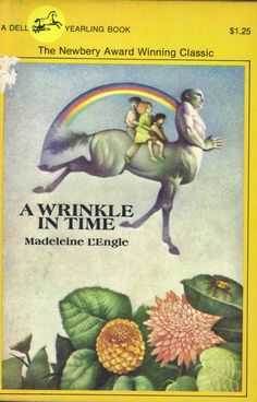 Here, There be a Writer: A Wrinkle in Time:  This book was hard as hell...but I pressed my way through it.  I still don't know if I understand it even as an adult!  Interesting though...