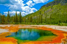 Yellowstone National Park ~ Wyoming. The 10 Most Visited U.S. National Parks