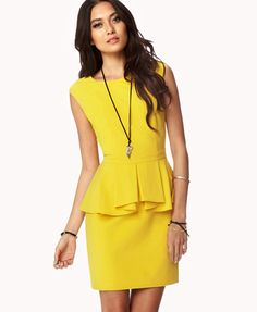 Cute Forever 21 Dress I Love This Hy Yellow Color And It Would Be