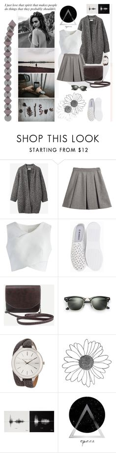 """""""that spirit ..."""" by mariettamyan ❤ liked on Polyvore featuring Toast, My Mum Made It, Chicwish, Ray-Ban and MICHAEL Michael Kors"""