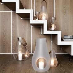 Latarenki Holmegaard Design With Light, matowe