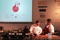 El chef mexicano Daniel Ovadía en el Fòrum Gastronòmic de Barcelona