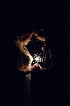 Romantic  Emerald and Gold Autumn Wedding via Calgary Bride