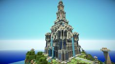 Minecraft Temple of Four Elements