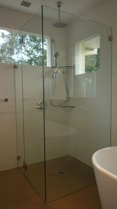 Custom Cut Frameless Shower Screens Sydney Palmers Glass - The Modern and Sophisticated Elegance That Only a Frameless Shower Screen Can Provide