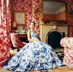 Patricia Herrera, Carolina's daughter, in her mother's bedroom.