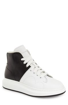 cfc644e0a912 Alexander McQueen High Top Sneaker (Men) Baskets Hautes, High Tops,  Chaussures De