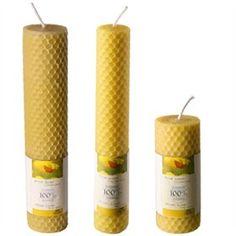 Sojawas en bijenwas kaarsen zonder schadelijke stoffen