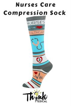 Think Medical™ compression socks enhance circulation, provide support, and helps relieve leg fatigue!