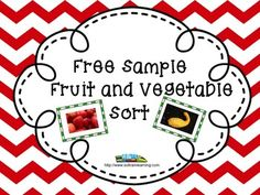 This is a Free sample of our Fruit and Vegetable Sorting cards. There are 8 photographic cards to sort into a Fruit or Vegetable sorting bag. Kindergarten Themes, Classroom Activities, Sorting Activities, Vocational Tasks, Thanksgiving Math, Teacher Freebies, Primary Science, Teachers Corner, Word Sorts