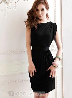 Amazing One Shoulder Slanting Dress $13.....LOVE LOVE LOVEEEE!  #AffordableClothes #Yeah