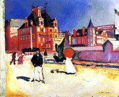 Trouville / Raoul Dufy - 1907