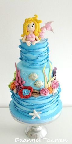 Sweet Mermaid Cake