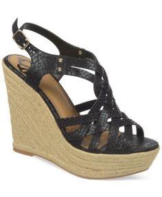 df61f162b033 Fergalicious Caprinni Platform Wedge Sandals   Reviews - Sandals   Flip  Flops - Shoes - Macy s